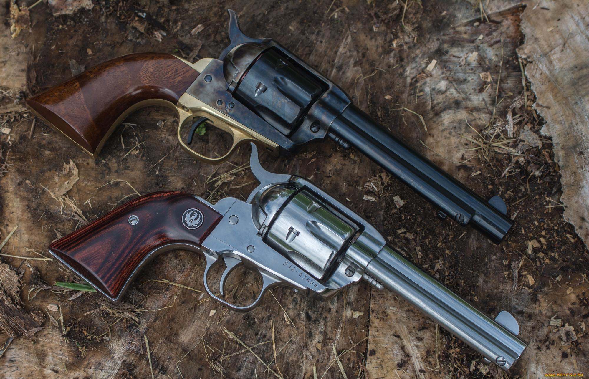 видам фото обычного черного ствола револьвера заводе